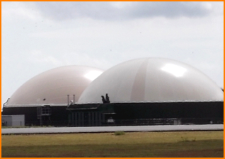 Anaerobic digesters can be damaged by foam